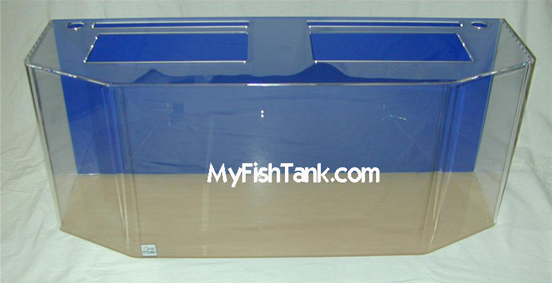 Acrylic aquariums fish tanks flatback hexagon la fishguy for How to build an acrylic fish tank