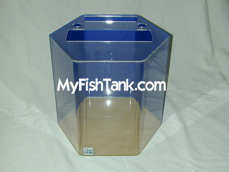 Acrylic aquariums fish tanks hexagon for How to build an acrylic fish tank